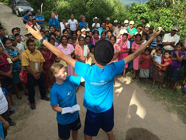 A team on a mission trip to Guatemala