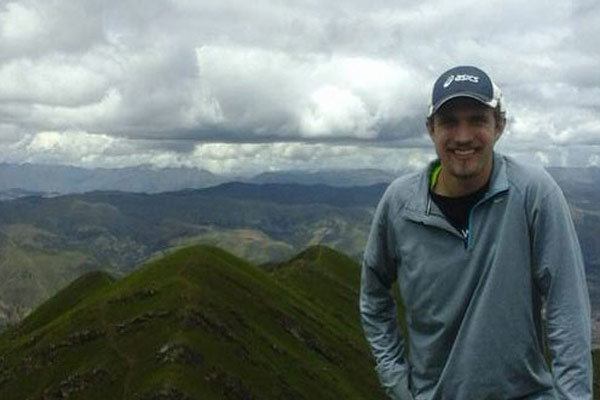 Chris is a missionary in Peru